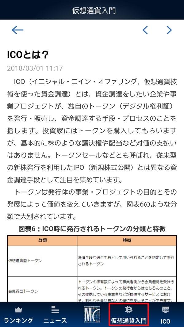 MY仮想通貨アプリ_仮想通貨入門_ICOとは?