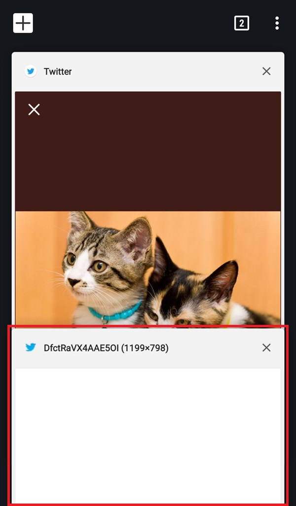 Android_Chromeブラウザ_タブ切り替え