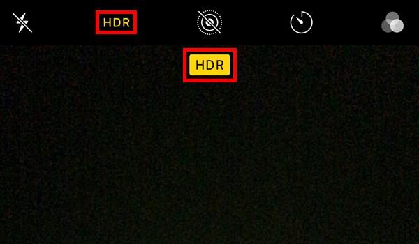 iPhone_カメラ_HDR_オン