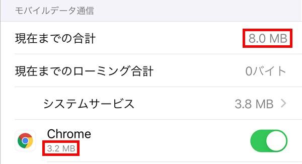 iPhone_モバイルデータ通信量_アプリ