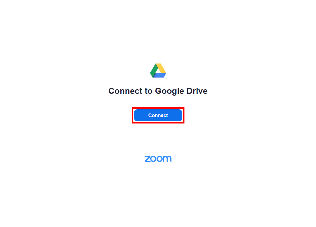 Chrome_Zoom_Connect_to_Google_Drive